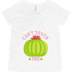 Can't Touch This Cacti Maternity Top