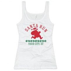 Santa Run Tank