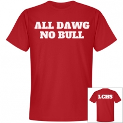 ALL DAWG, NO BULL RED