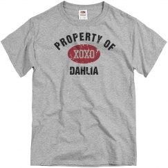 Property of Dahlia
