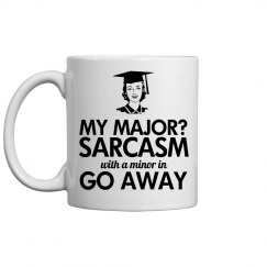 Major in Sarcasm Graduate