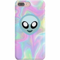 Space Grunge Alien Emoji Gift