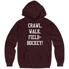 Crawl, walk, field hockey!