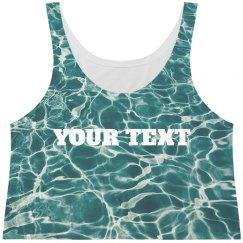 Custom Beach All-Over Water Print