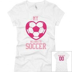 Heart Belongs To Soccer