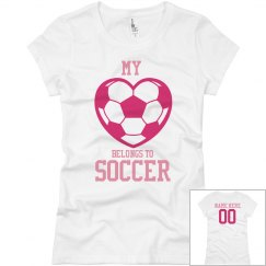 Heart Belongs To Soccer