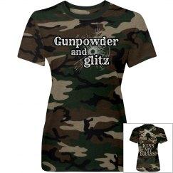 Gunpowder and Glitz- Camo
