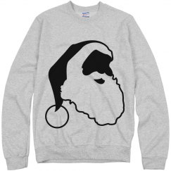 Grey Santa sweatshirt