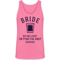 Neon Bride Shot