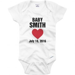 Baby smith July 2016