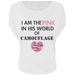 The Pink in His Camo