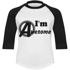 I'm Awesome youth tee