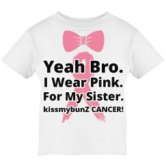 Breast cancer kids tee