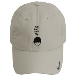 """Just Can't Find My Helmet"" Hat"