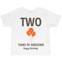 Two years of awesome