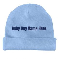 Custom Baby Boy Cap