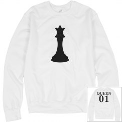 Matching King Chess Piece Girl