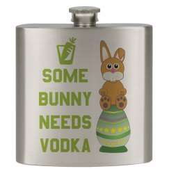 Some Bunny Needs Vodka Lime Green