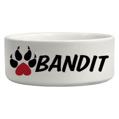 Bandit, Dog Bowl