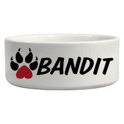 Bandit, Dog Bowl
