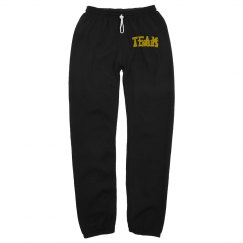 Atnohs Mens joggers distressed gold