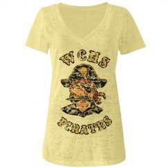 Pirate Burn-Out Tee