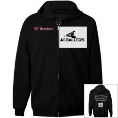 AI Ballers Black Hoodie