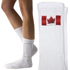 Canada Flag Socks Kids