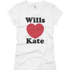 Wills and Kate Heart