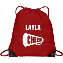 Layla cheer bag