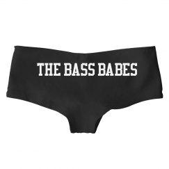 The Bass Babes boyshort