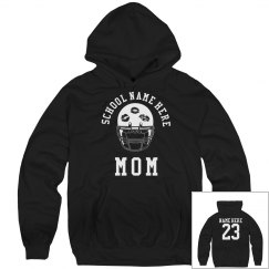 Proud Football Mom Hoodies