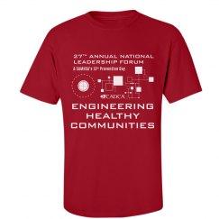 2017 Forum Men's T-shirt - Red