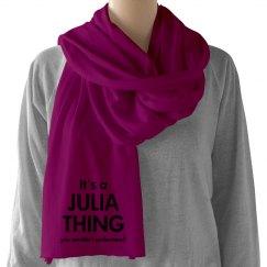 It's a Julia thing
