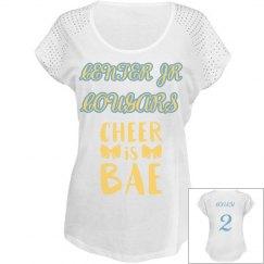 Cheer Coach Sequins Shirt