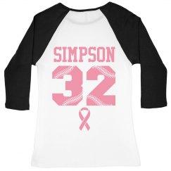Custom Baseball Pink