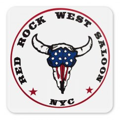 Red Rock West Saloon Magnet
