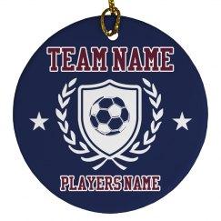 Custom Soccer Player Gift
