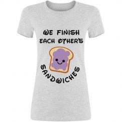 We Finish Sandwiches - Women