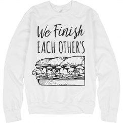 Funny Matching Best Friend Sandwich