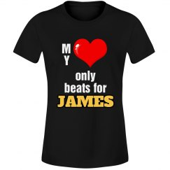 Heart beats for James