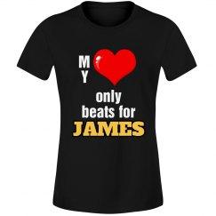 Heart beats for James