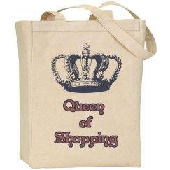 Queen of Shopping Shoulder Bag