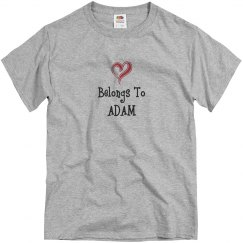 Heart belongs to Adam