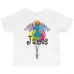 1 year old! James