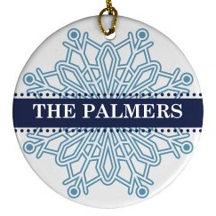 Snowflake Ornament