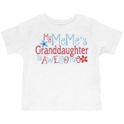 MeMe's Granddaughter