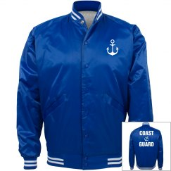 Coast Guard Bomber Jacket
