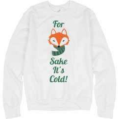 For Fox Sake It's Cold