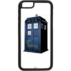 SuperWhoLock Iphone Case